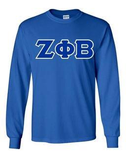 Zeta Phi Beta Long Sleeve T-shirts