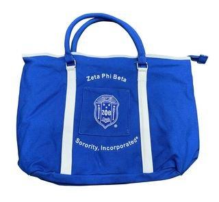 Zeta Phi Beta Shield Canvas Tote Bag