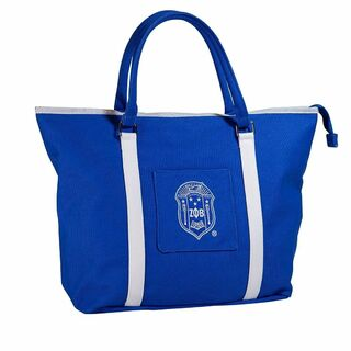 Zeta Phi Beta Shield Canvas Tote Bag