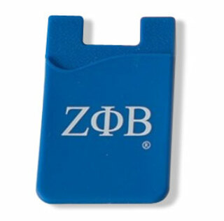 Zeta Phi Beta Silicone Card Holders