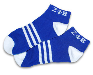 Zeta Phi Beta Socks