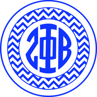 Zeta Phi Beta Sorority Monogram Bumper Sticker
