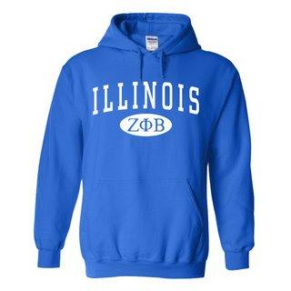 Zeta Phi Beta State Sweatshirt