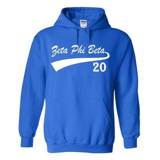 Zeta Phi Beta Tail Hooded Sweatshirt