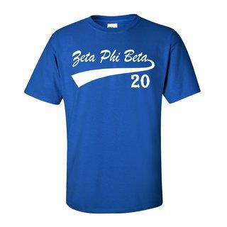 Zeta Phi Beta Tail T-Shirts