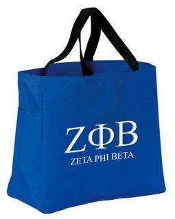 Zeta Phi Beta Tote