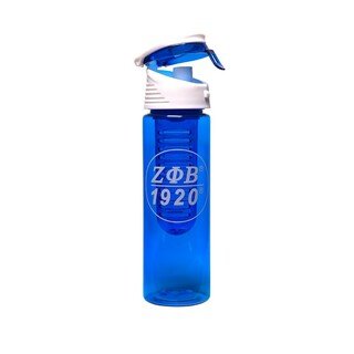 Zeta Phi Beta Tritan Water Bottle