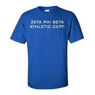 Zeta Phi Beta Athletic Dept. Tee