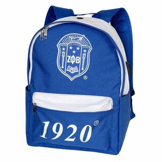 Zeta Phi Beta USB Port Backpack
