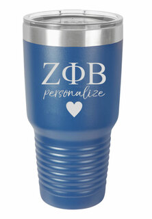 Zeta Phi Beta Vacuum Insulated Tumbler