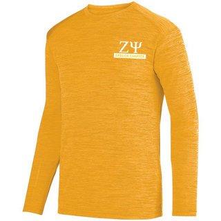 Zeta Psi- $20 World Famous Dry Fit Tonal Long Sleeve Tee