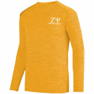 Zeta Psi- $26.95 World Famous Dry Fit Tonal Long Sleeve Tee