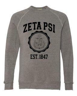 Zeta Psi Alternative - Eco-Fleece� Champ Crewneck Sweatshirt