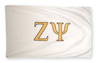 Zeta Psi Big Greek Letter Flag