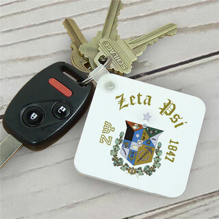 Zeta Psi Color Keychains