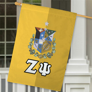 Zeta Psi Crest House Flag