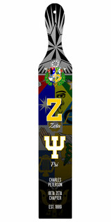 Zeta Psi Custom Full Color Paddle