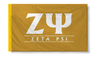 Zeta Psi Custom Line Flag