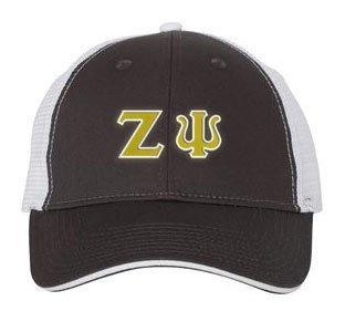 Zeta Psi Double Greek Trucker Cap