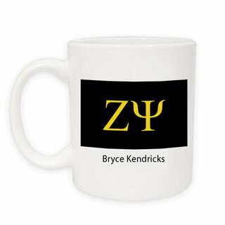Zeta Psi Flag Coffee Mug
