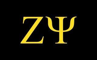 Zeta Psi Flag Decal Sticker