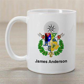Zeta Psi Greek Crest Coffee Mug - Personalized!