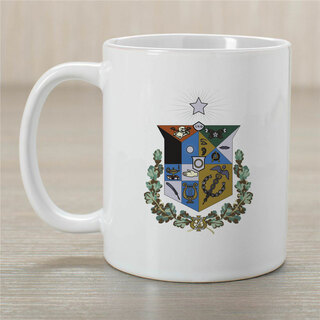 Zeta Psi Greek Crest Coffee Mug