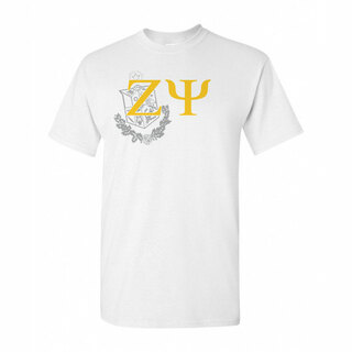 Zeta Psi Greek Crest - Shield T-Shirt
