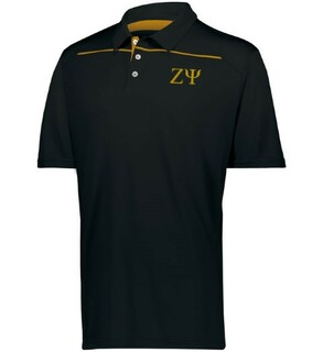Zeta Psi Subtle Greek Letter Defer Polo