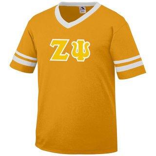 DISCOUNT-Zeta Psi Jersey With Greek Applique Letters