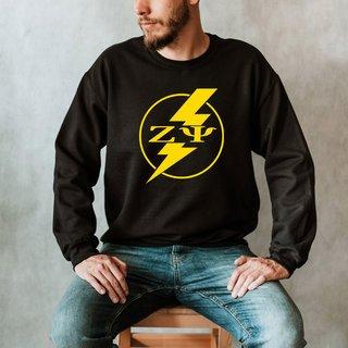 Zeta Psi Lightning Crew Sweatshirt