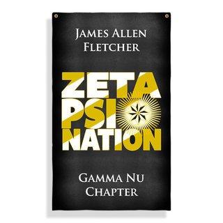 Zeta Psi Nations Giant Flag
