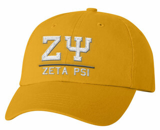 Zeta Psi Old School Greek Letter Hat