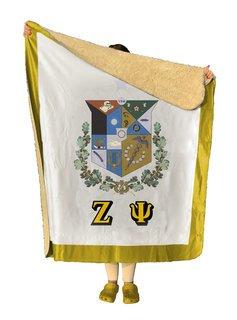 Zeta Psi Sherpa Lap Blanket