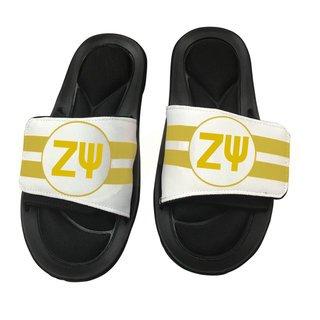 Zeta Psi Slide On Circle Sandals