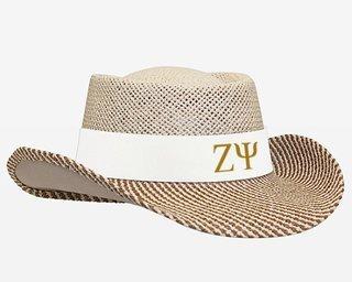 Zeta Psi Straw Hat