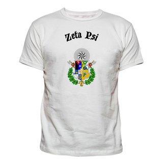 Zeta Psi Vintage Crest - Shield T-shirt