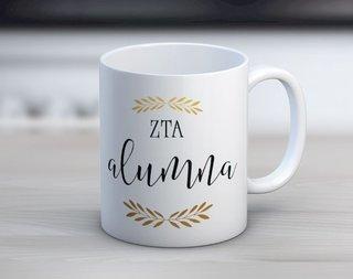 Zeta Tau Alpha Alumna Coffee Mug