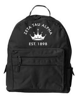 DISCOUNT-Zeta Tau Alpha Mascot Backpack
