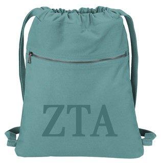 Zeta Tau Alpha Beach Wash Cinch Pack