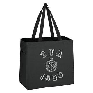 Zeta Tau Alpha Block Crest - Shield Cape Town Bag