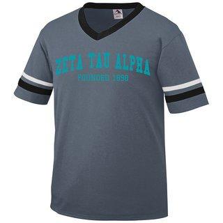 Zeta Tau Alpha Boyfriend Style Founders Jersey