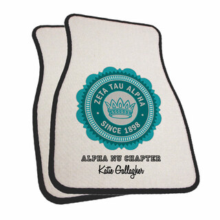 Zeta Tau Alpha Car Mats