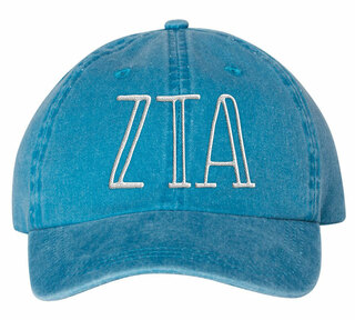 Zeta Tau Alpha Carson Greek Letter Hats