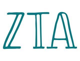 Zeta Tau Alpha Carson Greek Sticker
