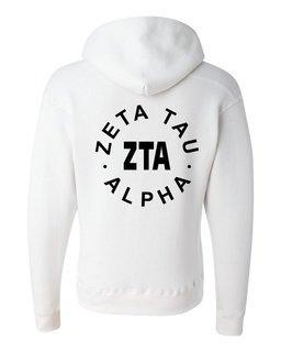 Zeta Tau Alpha Circle Hoodie