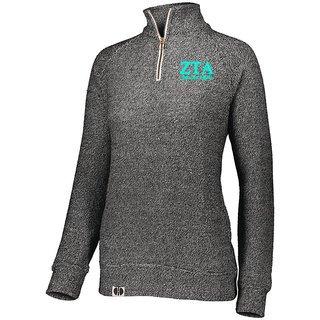 Zeta Tau Alpha Cuddly 1/4 Zip Pullover
