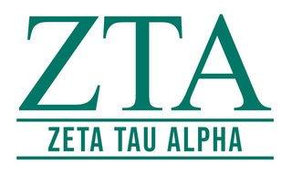Zeta Tau Alpha Custom Sticker - Personalized