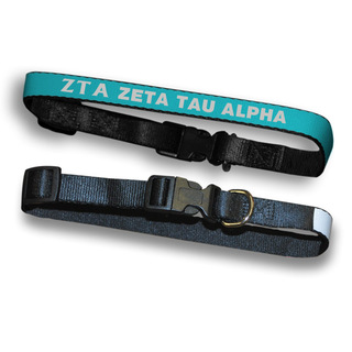 Zeta Tau Alpha Dog Collar