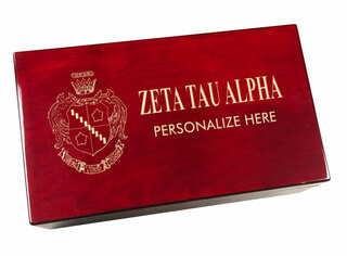 Zeta Tau Alpha Engraved Gavel Set